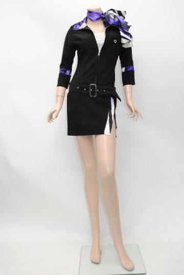 LIP系オールインワン スタイル ショートドレス