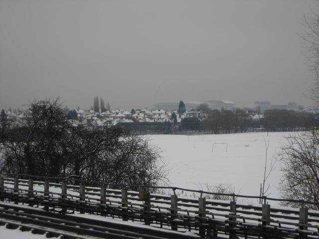雪の中のWembley