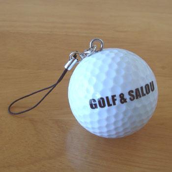 ゴルフボール型 ストラップ
