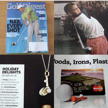 Golf Digest が届きました