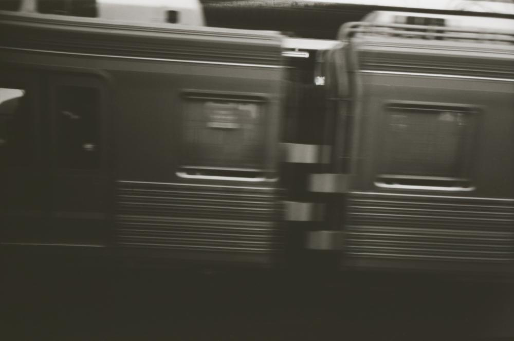 最近は電車移動