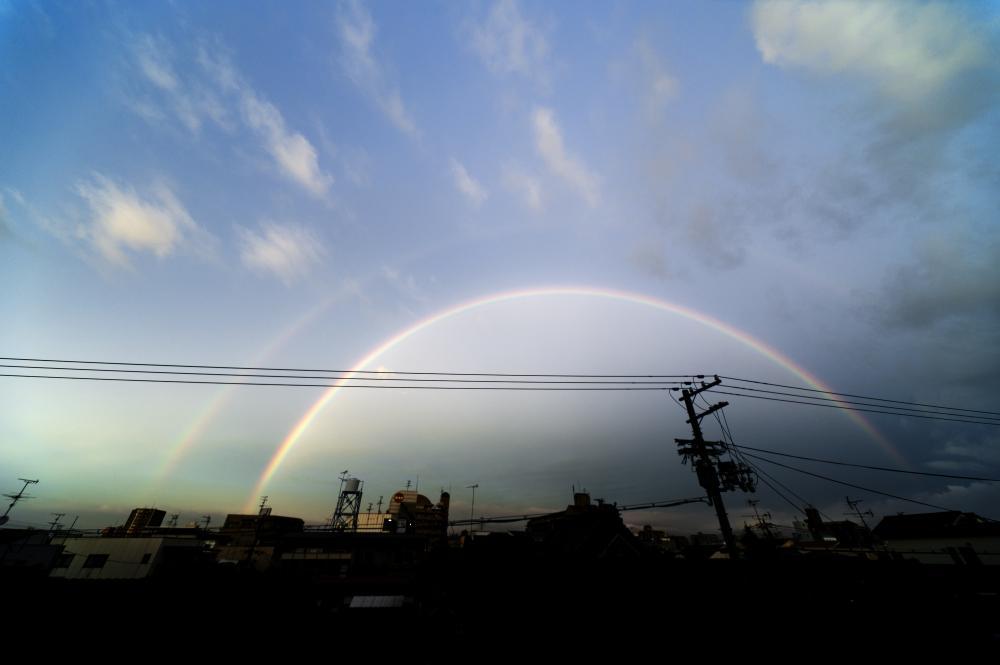 110712の虹
