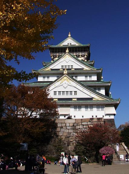 大阪城 正面