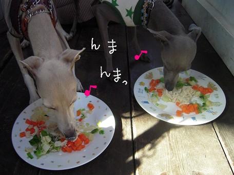 チキンサラダ♪おいしいかい♪♪♪