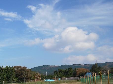 かわった雲だね~♪♪♪