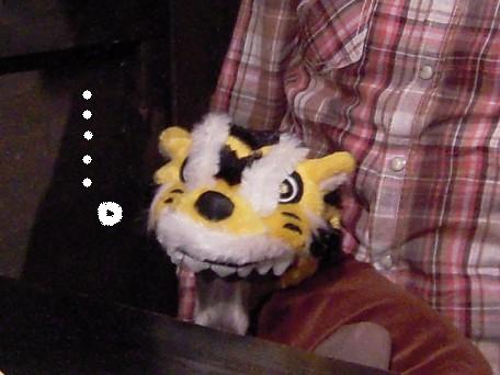 トラに食べられちゃったジョンくんw(^m^)