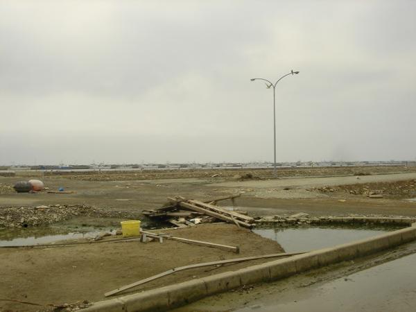 石巻港周辺被害2