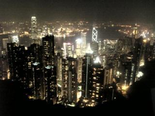 香港の夜景by相方