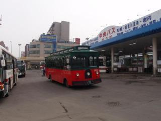 小樽のバス