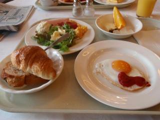 ノボテル朝食