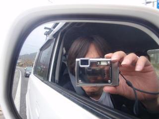 カメラの中にカメラ
