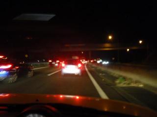 仙台で渋滞