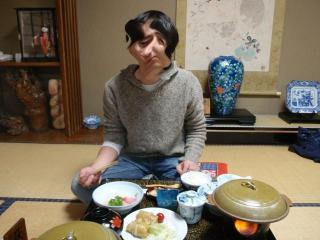 千歳館の夕食