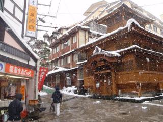野沢温泉街