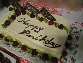 いて座バースデーケーキ