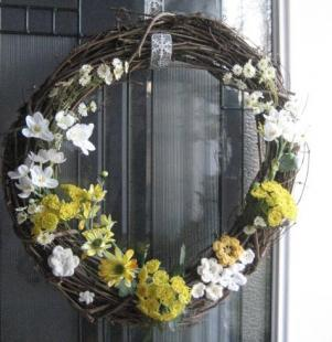 make a spring wreath 1