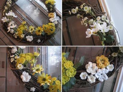 make a spring wreath 2