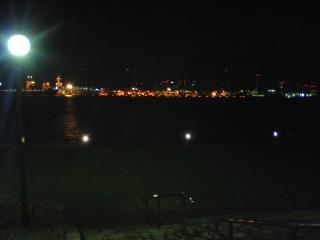 エバグリ正面夜景