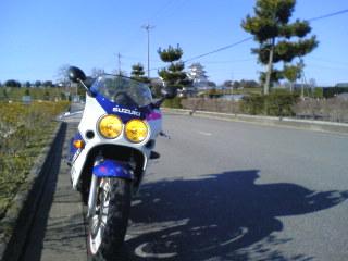 後ろにあるは関宿城