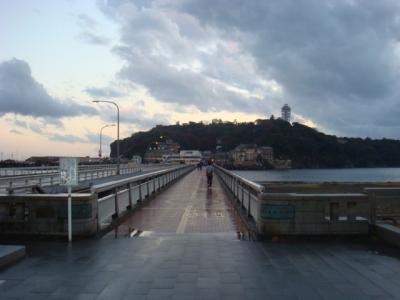 江ノ島を繋ぐ橋・・・