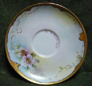 アンティーク手描き皿