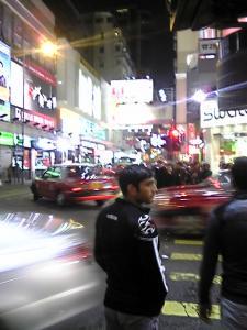香港 夜はにぎやか