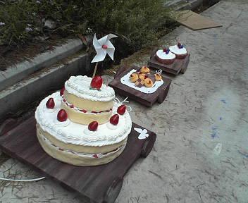 ケーキ1号