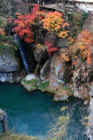 鬼怒川温泉の秋