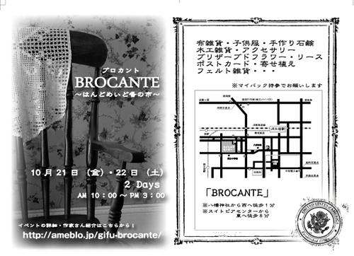 BROCANT データ