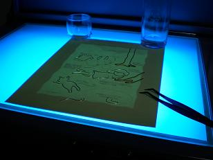 ライトテーブル?
