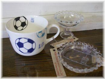 マグカップとガラス
