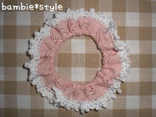 編みちくシュシュ