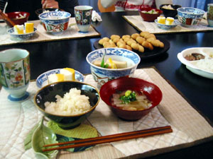 Kitouサン・Fusumadaサンと・お祝いメニュー♪
