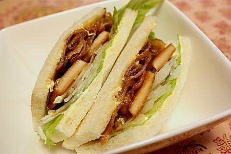 筍サンドイッチ♪