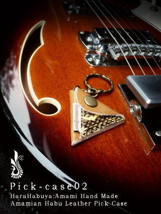 ギターピックケース「pick-case02」