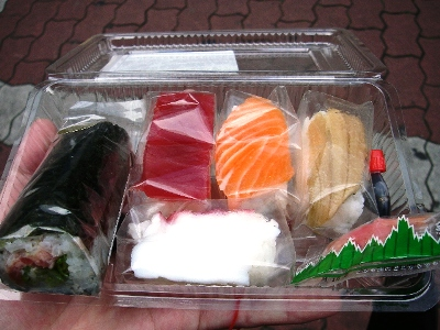 阪神百貨店さかな屋の寿司
