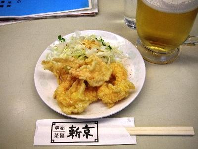 新京餃子セット海老天
