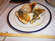 牡蠣ブルギョン(香草焼き)