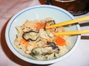 牡蠣釜飯ご飯