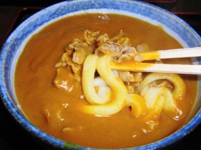喜八屋カレーうどん麺