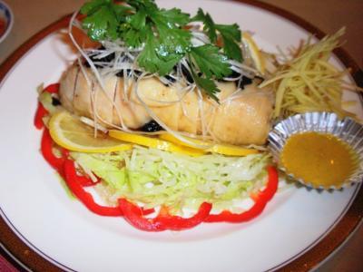 王風蒸し鶏(もも肉)