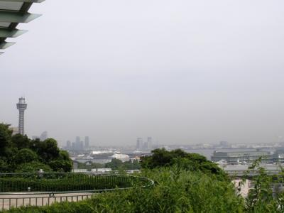 港の見える丘公園の展望台