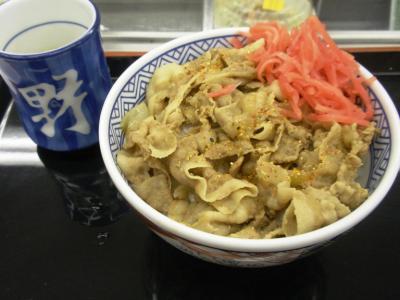 吉野家東三国店豚丼(並)