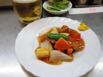 西遊記ビールセット酢豚