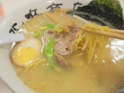阪神北海道物産展函館北浜商店白みそラーメン麺