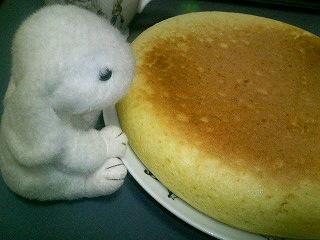 ふかふかホットケーキ