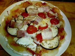 卯の花ピザ