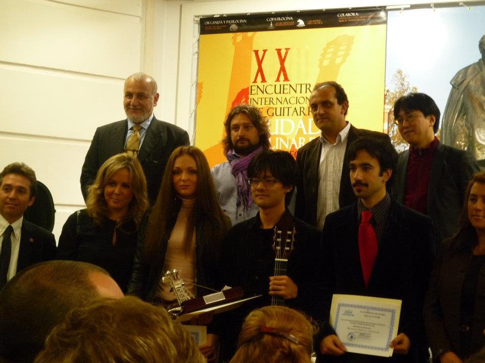 セゴビア国際授賞式