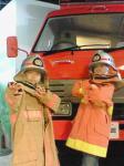 090308 消防博物館 消防士に変~身 1