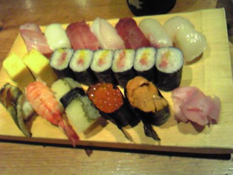 うまかったなぁ~^^寿司!!!